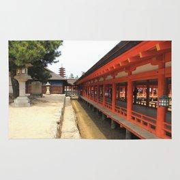 Shrines and Pagodas Rug