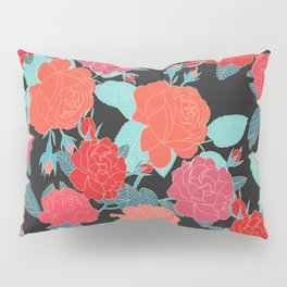 Rose Garden - Dark Pillow Sham
