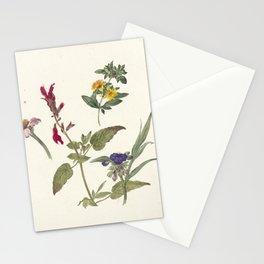 Pieter Ernst Hendrik Praetorius - Studies of wild flowers (1837) Stationery Cards