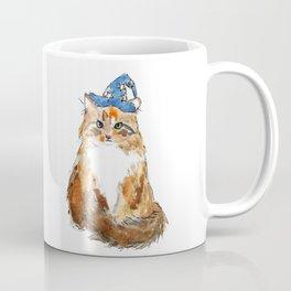 Maine Coon Cat Wizard Coffee Mug