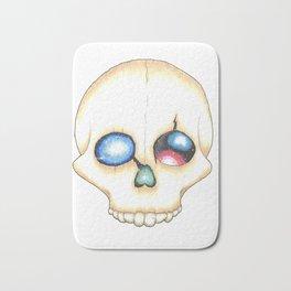 Galaxy Skull Bath Mat