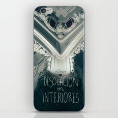 Desolación en interiores iPhone & iPod Skin