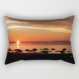 Cruising into the Sunset Rectangular Pillow
