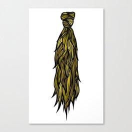 Hair Tie Canvas Print