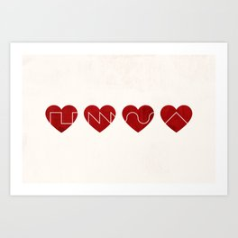 Love Synth Art Print