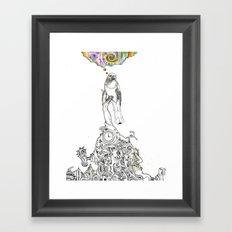 Bird Thought 1 Framed Art Print