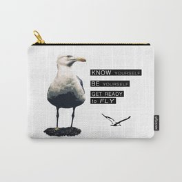 Seagull - Philosophy of LIFE Carry-All Pouch
