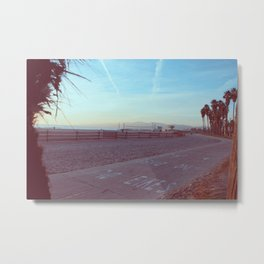 Bikes Only in Venice, California Metal Print