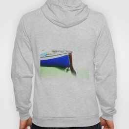 The fishing boat and the water Hoody