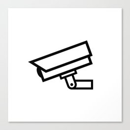 Security Camera Canvas Print