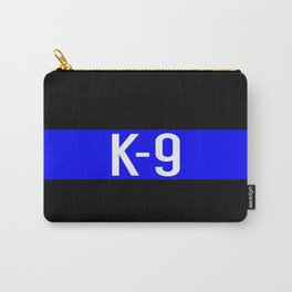 Police K-9 (Thin Blue Line) Carry-All Pouch