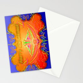 Modern Christmas greetings ... Stationery Cards