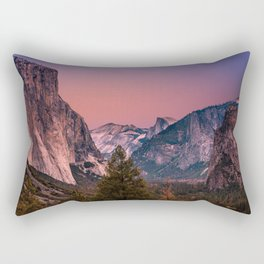 Yosemite Valley Rectangular Pillow