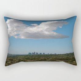 Los Angeles Skies Rectangular Pillow