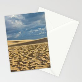 on the dune Stationery Cards