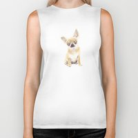 chihuahua Biker Tanks featuring Chihuahua by jo clark