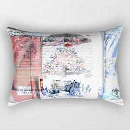 Sunning Rectangular Pillow