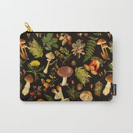 Vintage & Shabby Chic - Autumn Harvest Black Carry-All Pouch
