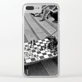 The Showdown (Part 7: NYC) Clear iPhone Case