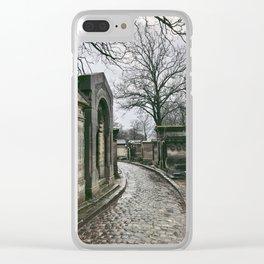 Père Lachaise IV Clear iPhone Case