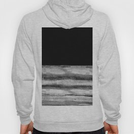Fading - black and gray abstract modern art, minimal style Hoody