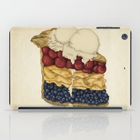 pie iPad Cases featuring American Pie by Megs stuff...