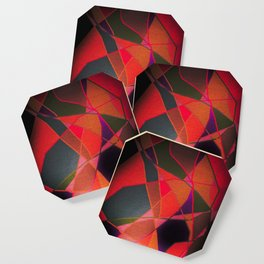 Abstract Form Coaster