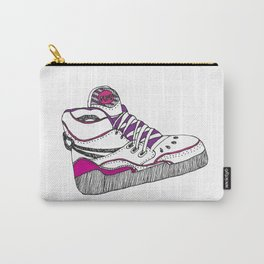 80's Reebok Pump Illustration Carry-All Pouch