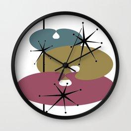 Atomic RYB Wall Clock