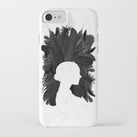 black swan iPhone & iPod Cases featuring Black Swan by Bill Pyle
