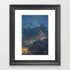 Light Breaks Framed Art Print