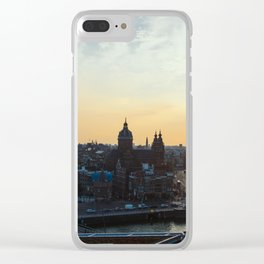 Amsterdam at Sunset Clear iPhone Case