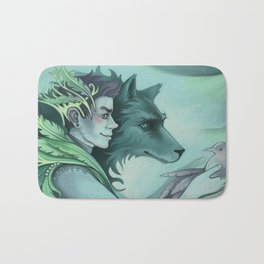The Forest Prince Bath Mat