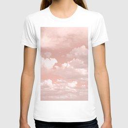 Clouds in a Peach Sky T-shirt