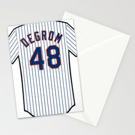 Jacob deGrom Jersey Stationery Cards