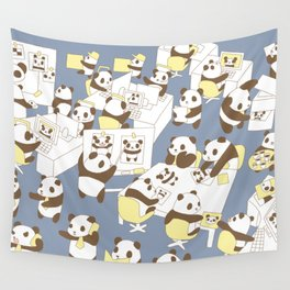 Panda Office Wall Tapestry