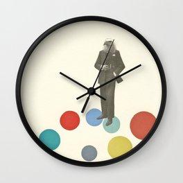 Bird Man Wall Clock