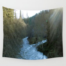 Rushing waters at Salt creek.... Wall Tapestry