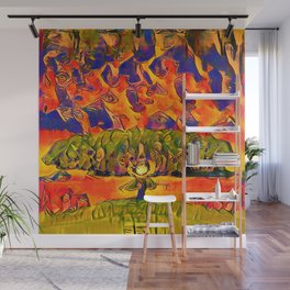 Weather Gatherer Wall Mural