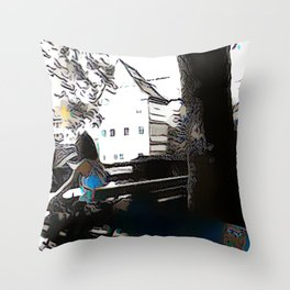 Good Read Bamberg Throw Pillow