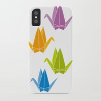 origami iPhone & iPod Cases featuring ORIGAMI by taichi_k