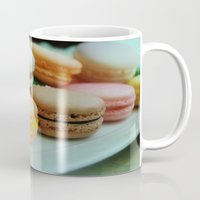 macarons Mugs featuring Macarons by Charming Ink