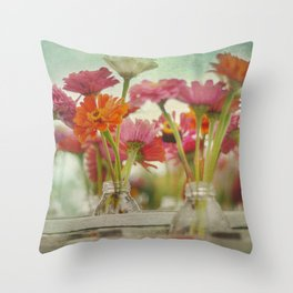 Roadside Pickings Throw Pillow