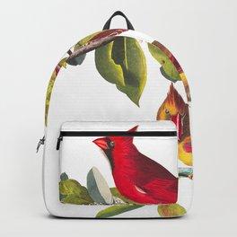 Cardinal Grosbeak by John James Audubon Backpack
