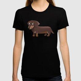 Longhaired Dachshund - Cute Dog Series T-shirt