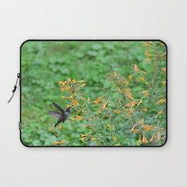 Hummingbird and orange agastache 51 Laptop Sleeve