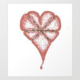 Give 'em Heart Art Print