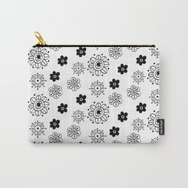 Blossom Doodle Carry-All Pouch
