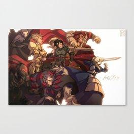 [FATE/ZERO] SERVANTS Canvas Print