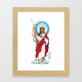 Jesus Christ Framed Art Print